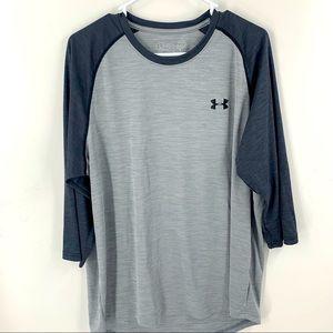 Under Armour Baseball style Shirt